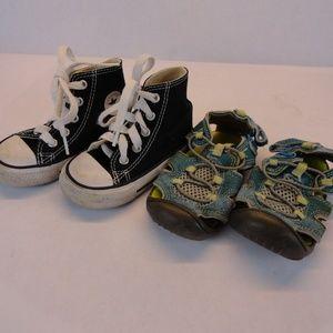 Converse Chuck Taylor High Top Size 5 Toddler/Baby
